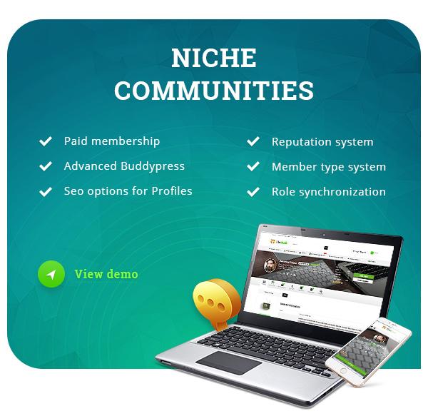 Community theme wordpress