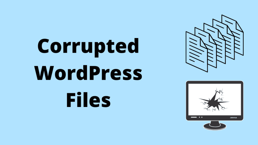 Corrupted WordPress Files