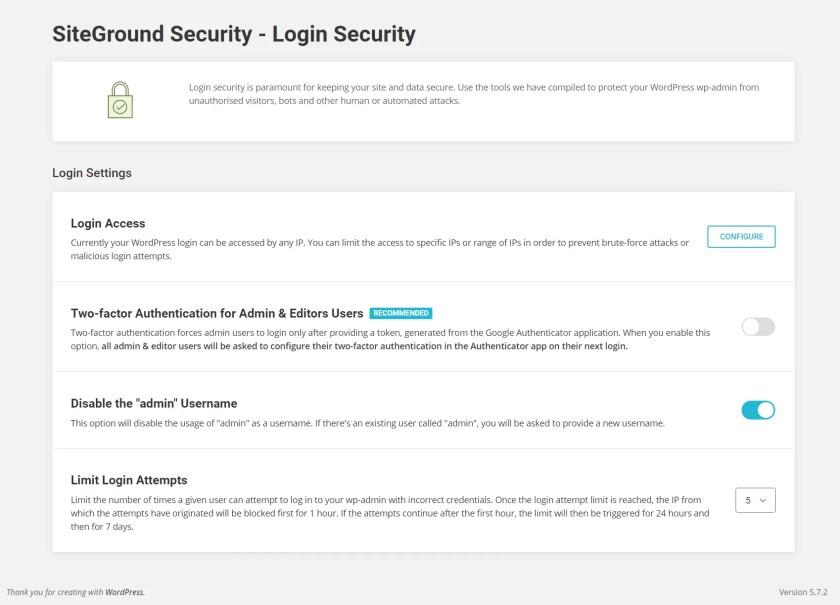 Login Security
