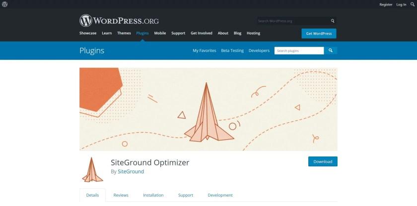 SG Optimizer Download Page