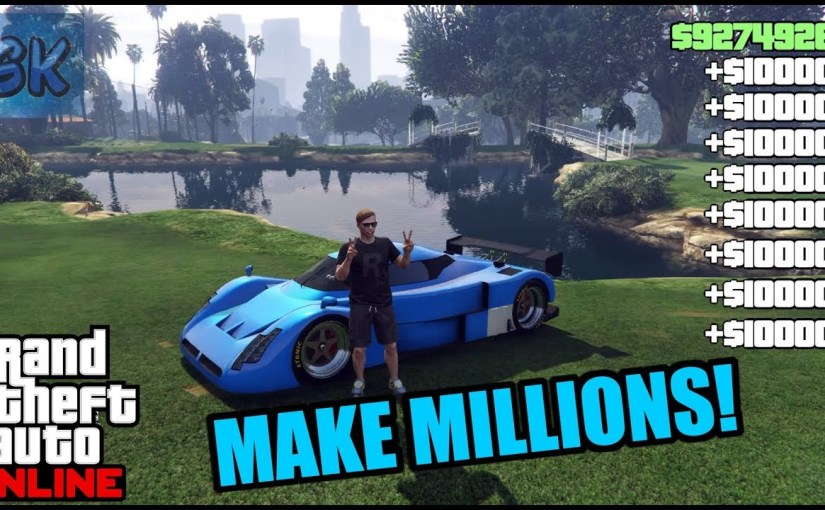 IT'S BACK this SOLO GTA 5 ONLINE MONEY GLITCH TO HELP MAKE