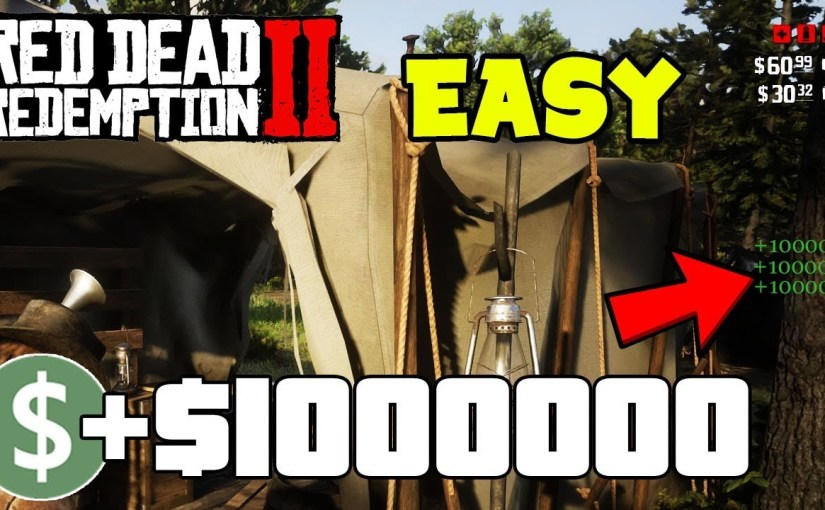 This Is THE FIRST EASY Money Glitch On Red Dead Redemption 2… (RDR 2