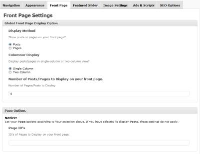 configurefrontpageevenflow