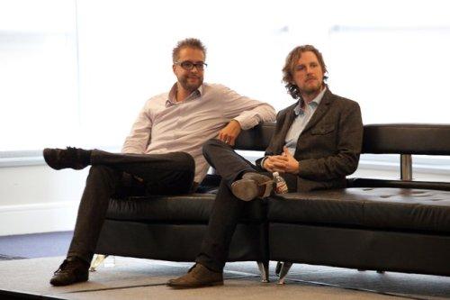 Dries Buytaert And Matt Mullenweg