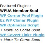 WPUA Plugins