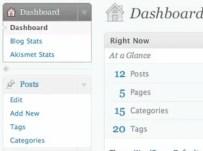 WordPress 2.7 Interface