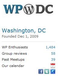 WordPress DC Meetup