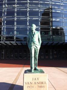 Van Andel Statue