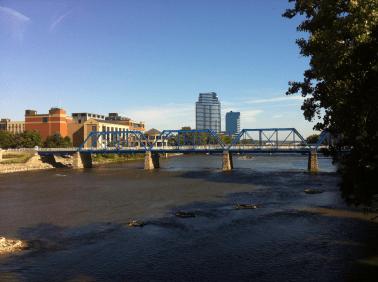 Blue Bridge Skyline