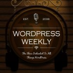 WordPress Weekly Cover Art