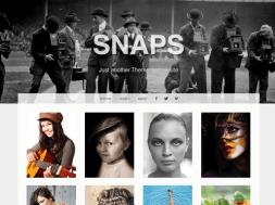 Snaps WordPress theme