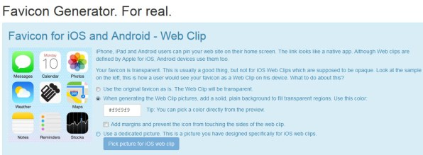 Favicon For Apple And Android