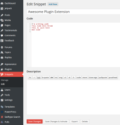 Code Snippets In Action