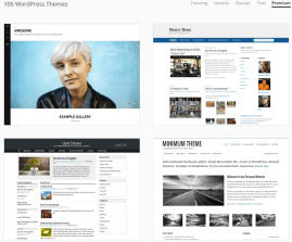 105 Premium Themes Available On WordPress.com
