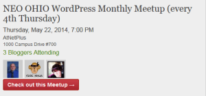 Meetup Group Event Embedded Into A Post