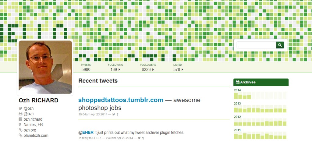 Tweet Archive: A Free WordPress Theme to Match the New Twitter Profiles