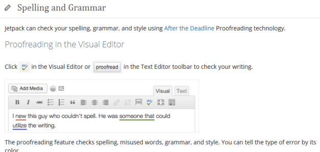 Description Of The Spell Checking Module
