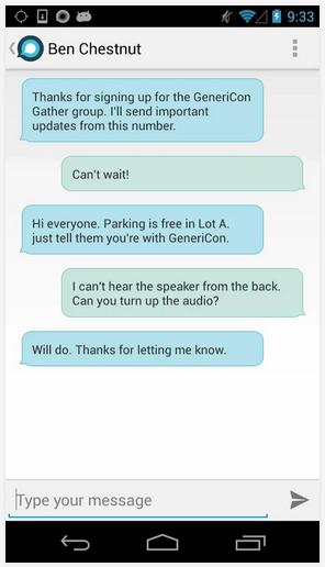 gather-text-update