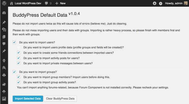 buddypress-default-data