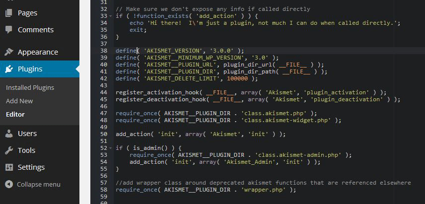 New Plugin Adds Syntax Highlighting to the WordPress Plugin and Theme Editors