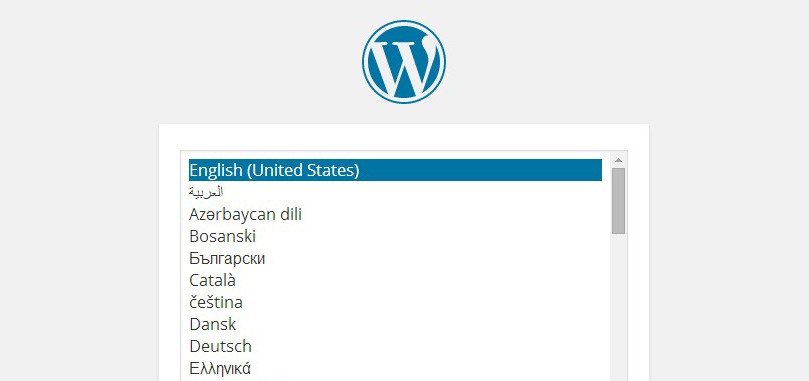 WordPress 4.0 to Add Language Selection to Installation