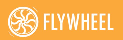 Flywheel Logo Orange