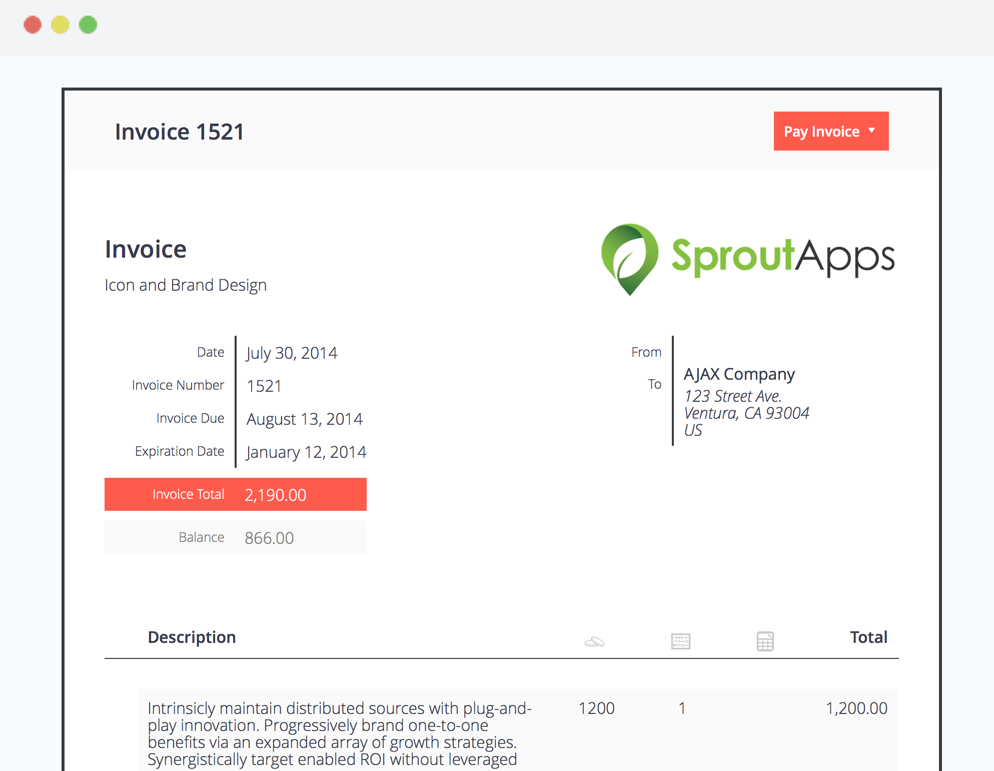 Sprout Apps Launches Free WordPress Invoicing Plugin WordPress Tavern - Wordpress invoice plugin