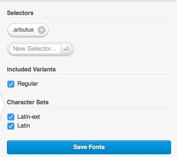 Typecase CSS Selectors