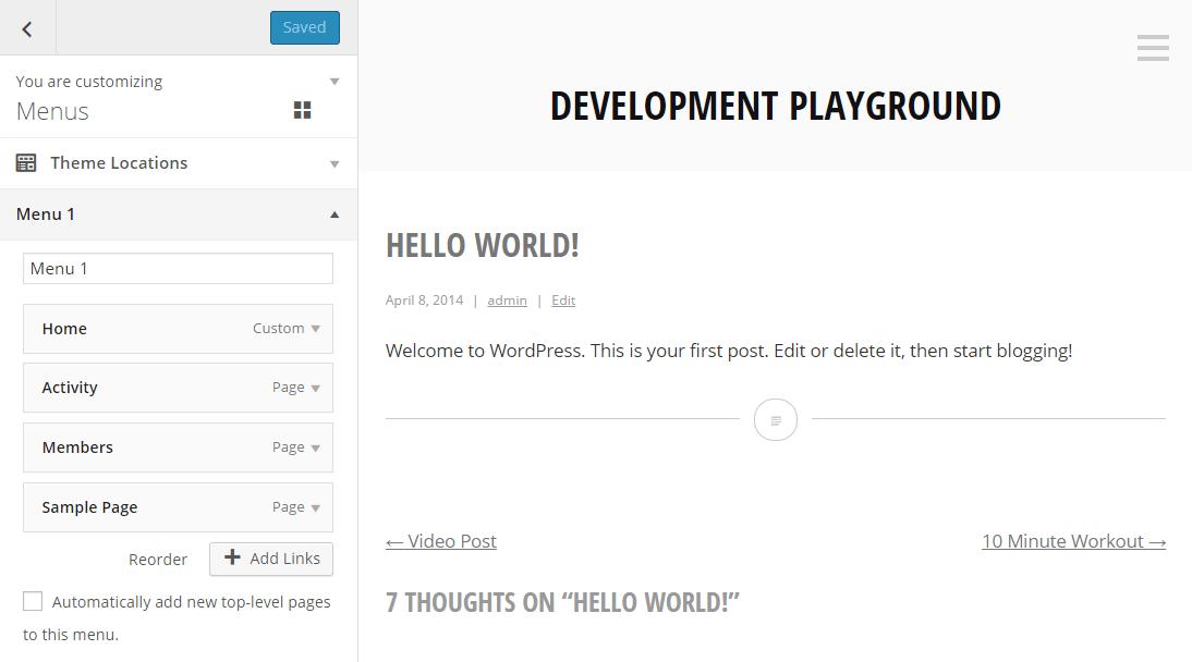 menu-customizer
