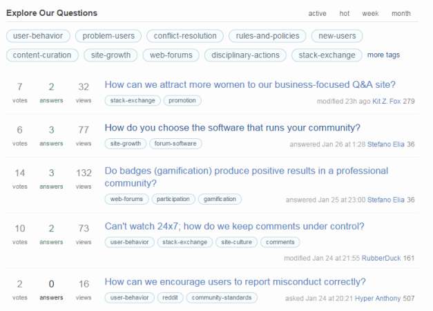 community-building-stackexchange