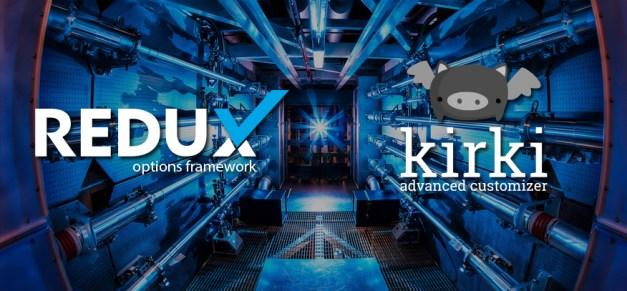 redux-kirki-frameworks
