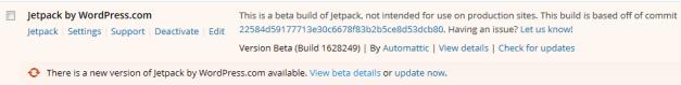 Successful Update to Jetpack Beta