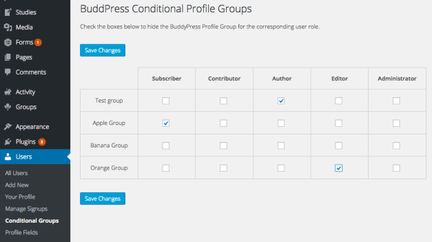 buddypress-conditional-field-groups-settings