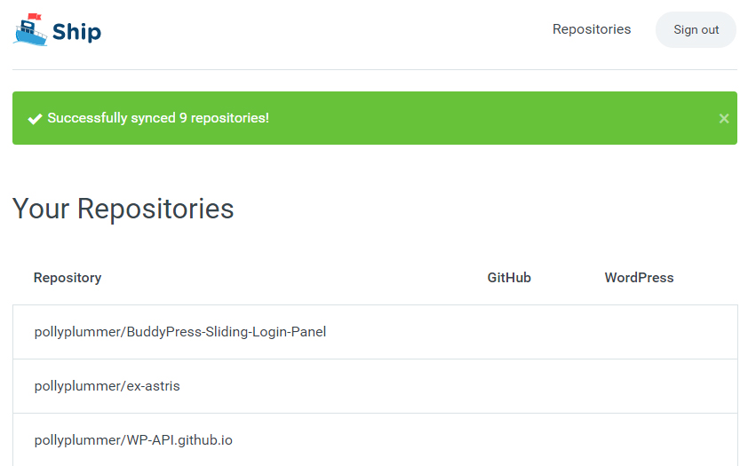 Ship: A New App for Shipping Plugins from GitHub to
