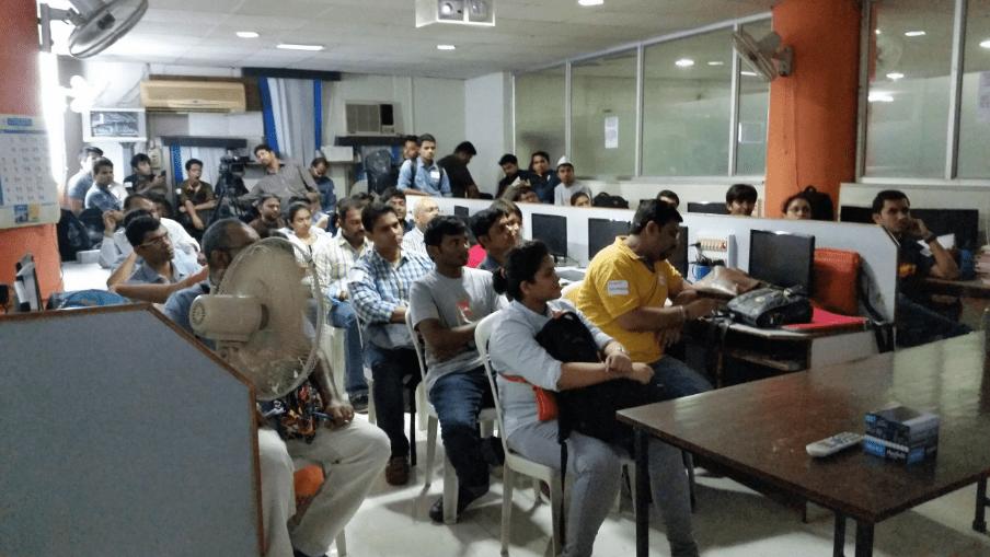 WordCamp Pune Classrooms