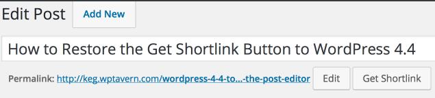 Shorter Links Settings