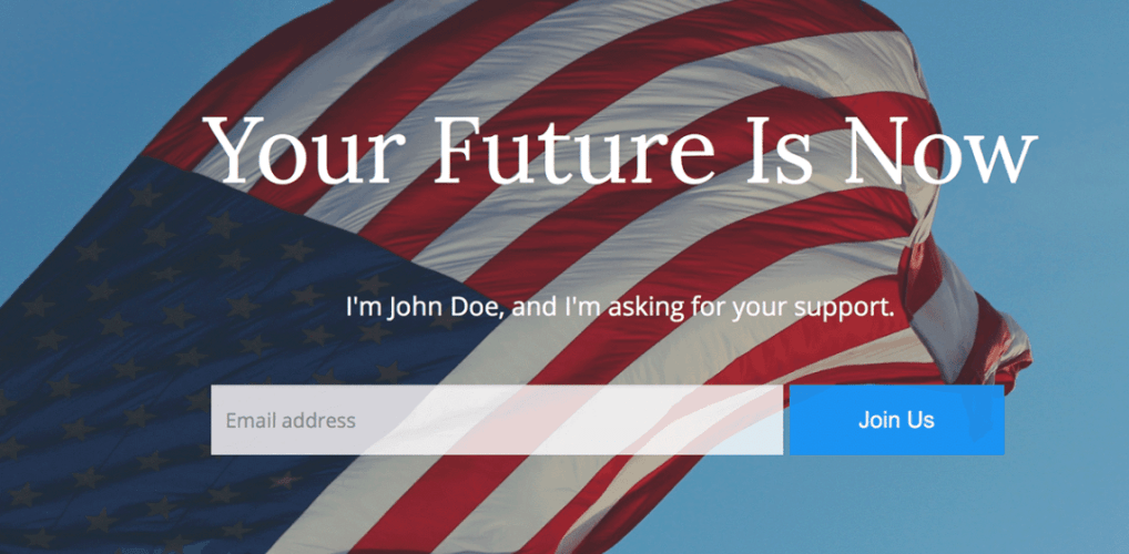 Politics: A Free WordPress Theme for Political Campaigns