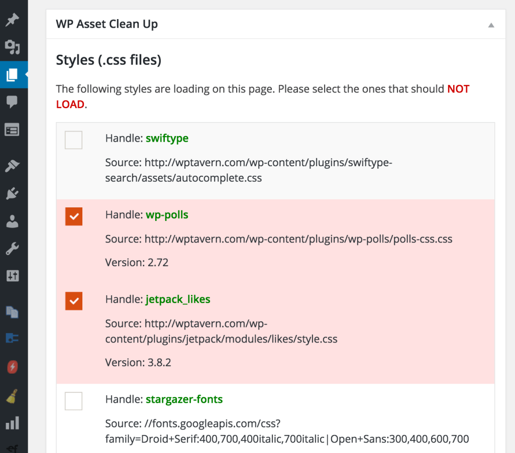 wp-asset-clean-up