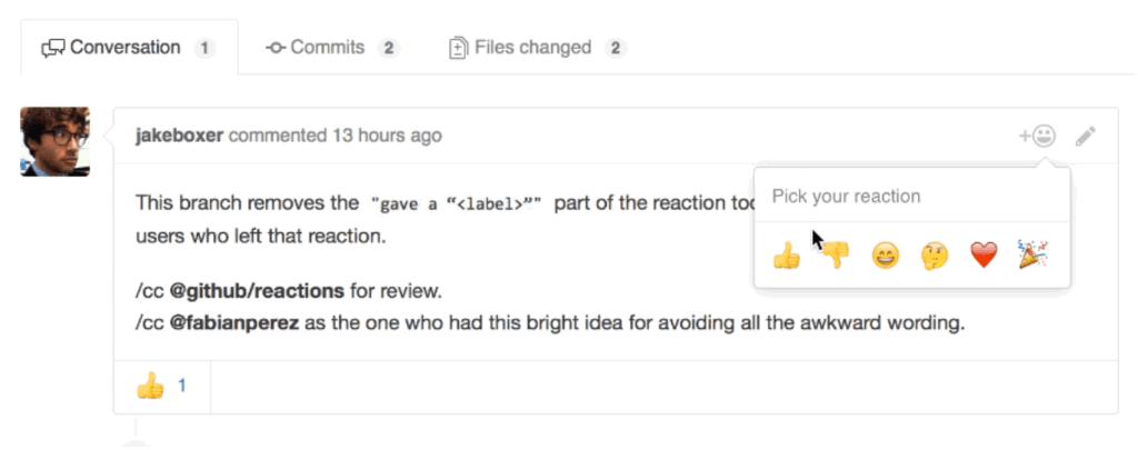 GitHub Now Supports Emoji Reactions for Pull Requests, Issues, and Comments
