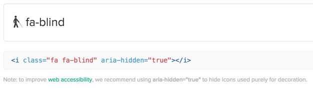 font-awesome-code-examples