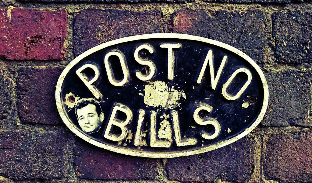 photo credit: Post no bills - (license)