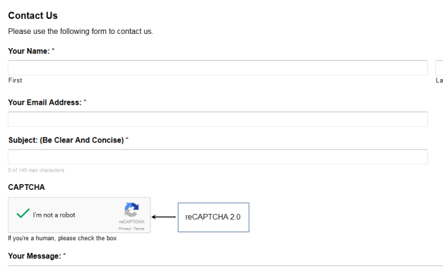 reCAPTCHA 2.0 Support in GravityForms 2.0