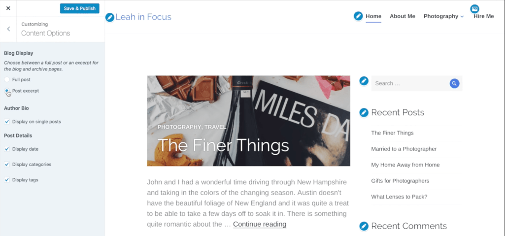 WordPress.com Introduces Content Options Customizer Panel, Plans to Include in Jetpack