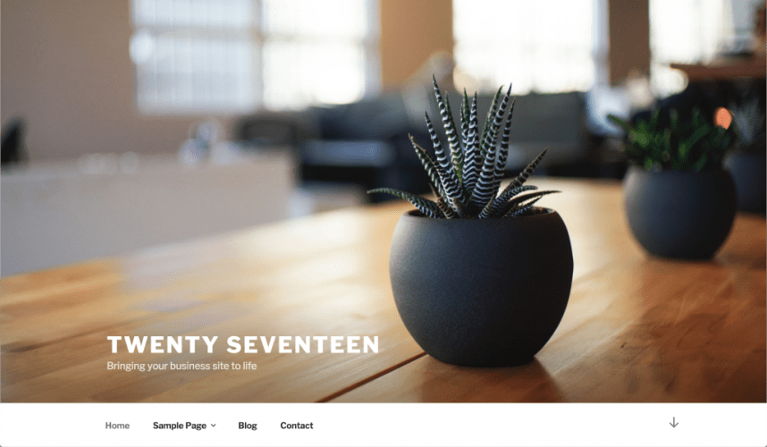 New WordPress Default Theme Twenty Seventeen Merged into 4.7