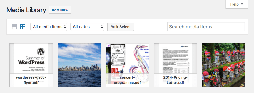 PDF Preview Images in the WordPress Media Library