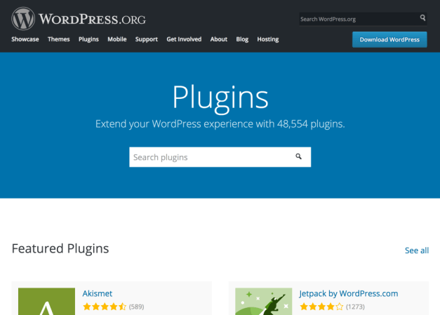 WordPress Plugin Directory Redesign