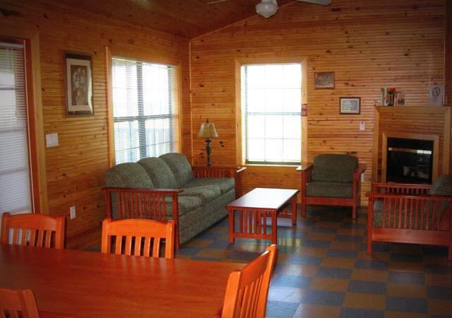 Lake Louisa Cabin Interior