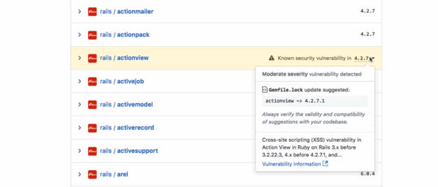 GitHub Launches Security Alerts for JavaScript and Ruby Projects