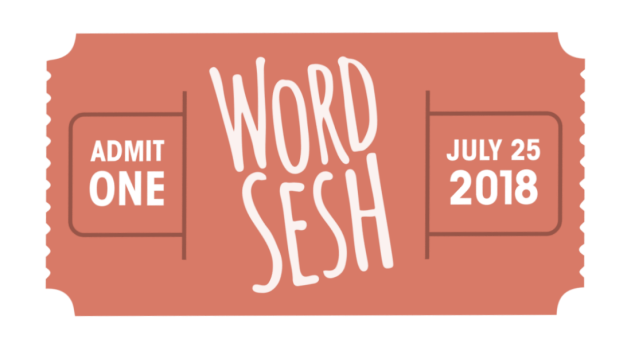 wordsesh WordSesh Returns Wednesday, July 25, Experiments with Charging Attendees for Tickets design tips
