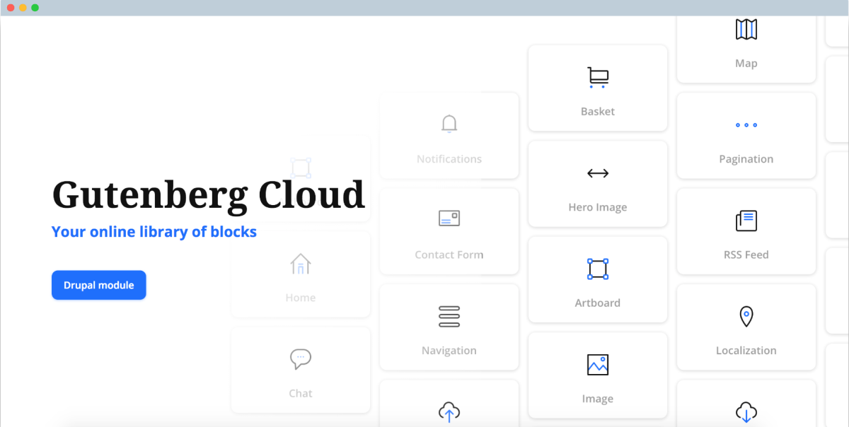 Gutenberg Cloud: A Cross-Platform Community Library for Custom Gutenberg Blocks